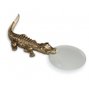 L'Objet Crocodile Desk Items Magnifying Glass