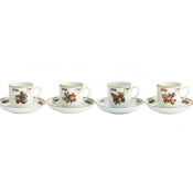 Tea Cup & Saucer / Set of 4