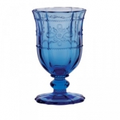 Juliska Colette Delft Blue Footed Goblet