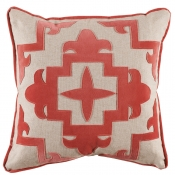 Lacefield Sultana Applique Pillow - 22 x 22