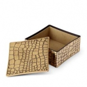 L'Objet Crocodile Square Box