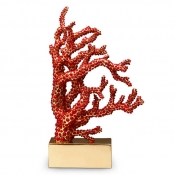 L'Objet Coral Desk Items Coral Bookend