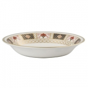 Derby Border Oatmeal / Cereal Bowl