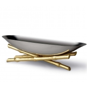 L'Objet Bambou Serving Boat - Large