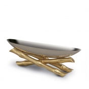 L'Objet Bambou Serving Boat - Small