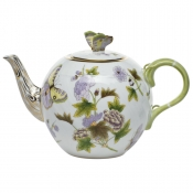 Royal Garden Teapot w/ Butterfly