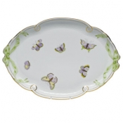 Royal Garden Ribbon Tray