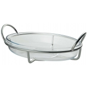 Ercuis Latitude Oval Gratin Dish Without Cover