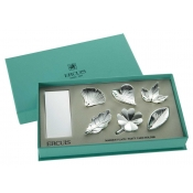 Leaf Collection Place Card Holders / Boxed Set 6
