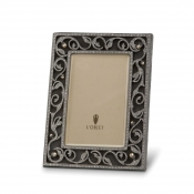 L'Objet Cheryl Frames Noir + Fresh Water Pearls + White Crystals - 5 x 7""