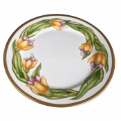 Golden Rod Dinner Plate