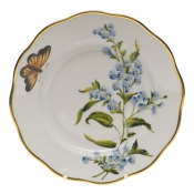 "American Wildflower - Blue Wood Aster SALAD PLATE  7.5""D - Blue Wood Aster"