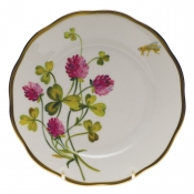 "American Wildflower - Red Clover BREAD & BUTTER PLATE  6""D - Red Clover"