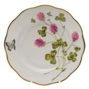 "American Wildflower - Red Clover SALAD PLATE  7.5""D - Red Clover"