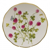 "American Wildflower - Red Clover DINNER PLATE  10.5""D - Red Clover"