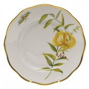 "American Wildflower- Meadow Lily SALAD PLATE  7.5""D - Meadow Lily"