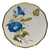 "American Wildflower - Morning Glory BREAD & BUTTER PLATE  6""D - Morning Glory"