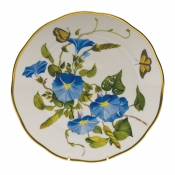 "American Wildflower - Morning Glory DINNER PLATE  10.5""D -Morning Glory"