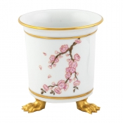 Herend Herend Cherry Blossom Mini Cachepot w/ Feet