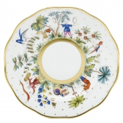Herend Asian Garden Dessert Plate - Bold