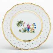Herend Asian Garden Bread & Butter Plate - Motif 1