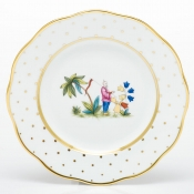 Herend Asian Garden Salad Plate - Motif 1