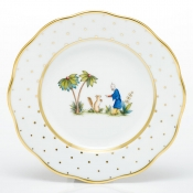 Herend Asian Garden Salad Plate - Motif 3