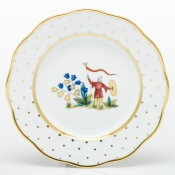 Herend Asian Garden Salad Plate - Motif 4