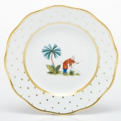 Herend Asian Garden Salad Plate - Motif 6