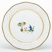Herend Asian Garden Dinner Plate - Motif 3