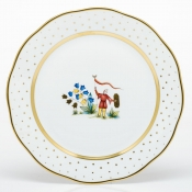 Herend Asian Garden Dinner Plate - Motif 4