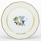 Herend Asian Garden Dinner Plate - Motif 5