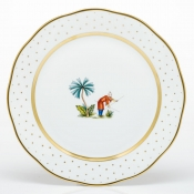 Herend Asian Garden Dinner Plate - Motif 6