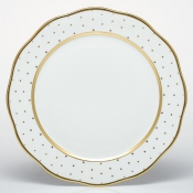 Herend Connect the Dots Dinner Plate - 10.25""