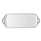 Fountainebleau Platinum w/ Filet Long Cake Plate