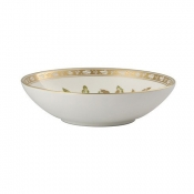 Green Panel Accent Green Panel Cereal Bowl