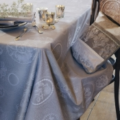 "Mille Eclats Macaron Tablecloth - 69"" Round"