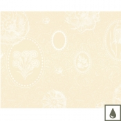 "Mille Eclats Chocolate Blanc Placemat - 16"" x 20"" / Set 4"