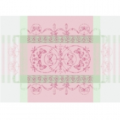 "Eugenie Candy Placemat - 21"" X 15"" / Set 4"