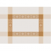 "Imperatrice Gold Placemat - 21"" X 15"" / Set 4"