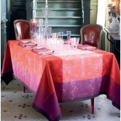 "Palace Ruby Tablecloth - 69"" x 100"""