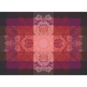 "Palace Ruby Placemat - 22"" x 16"" / Set 4"