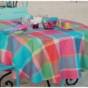"Coated Tablecloth - 69"" Round (Coated)"