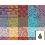 "Coated Placemat - 20"" x 16"" / Set 4 (Coated)"