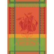 Garnier Thiebaut Poivron Paprika Kitchen Towel / Set 4