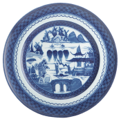 Mottahedeh Blue Canton Dinner Plate - 10""
