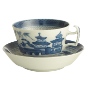 Mottahedeh Blue Canton Breakfast Cup & Saucer