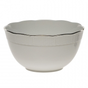 "Platinum Edge ROUND BOWL  (3.5 PT) 7.5""D"