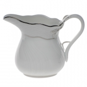 "Platinum Edge CREAMER  (6 OZ) 3.5""H"