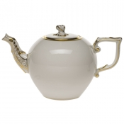 Gwendolyn TEA POT W/TWIST  (34 OZ)